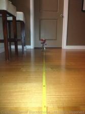 9 feet with flash