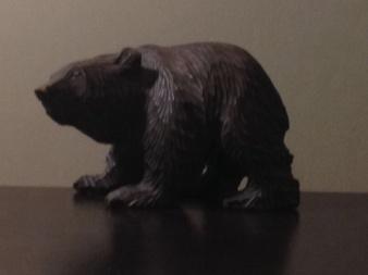 Bear shot using digital zoom