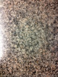 A smooth granite counter top