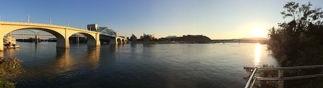 iPhone 5S Panoramic with changing brightness as I panned