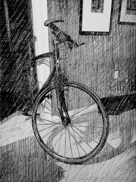 Sketch up of bicycle