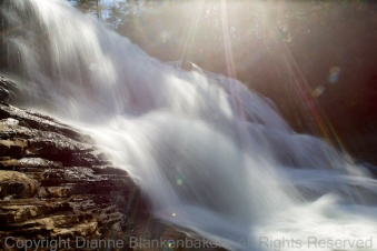 1/6 shutter speed (Cane Creek Falls in Fall Creek Falls State Park)