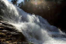 1/320 shutter speed (Cane Creek Falls in Fall Creek Falls State Park)