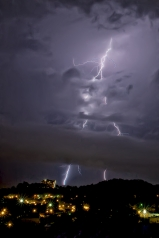Lightening Strike on Stringer's Ridge Chattanooga